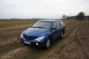 Ssangyong började sälja bilar i Sverige under 2006. Actyon Sports är deras pickup variant. En tyst arbetshäst som har hög lastförmåga.