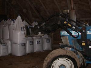 Höga gaspriser stoppar gödselproduktionen