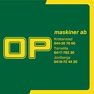 OP Maskiner