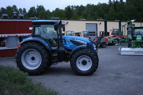 Nya 7-serien från Landini, en modern traktor med steglös transmission.