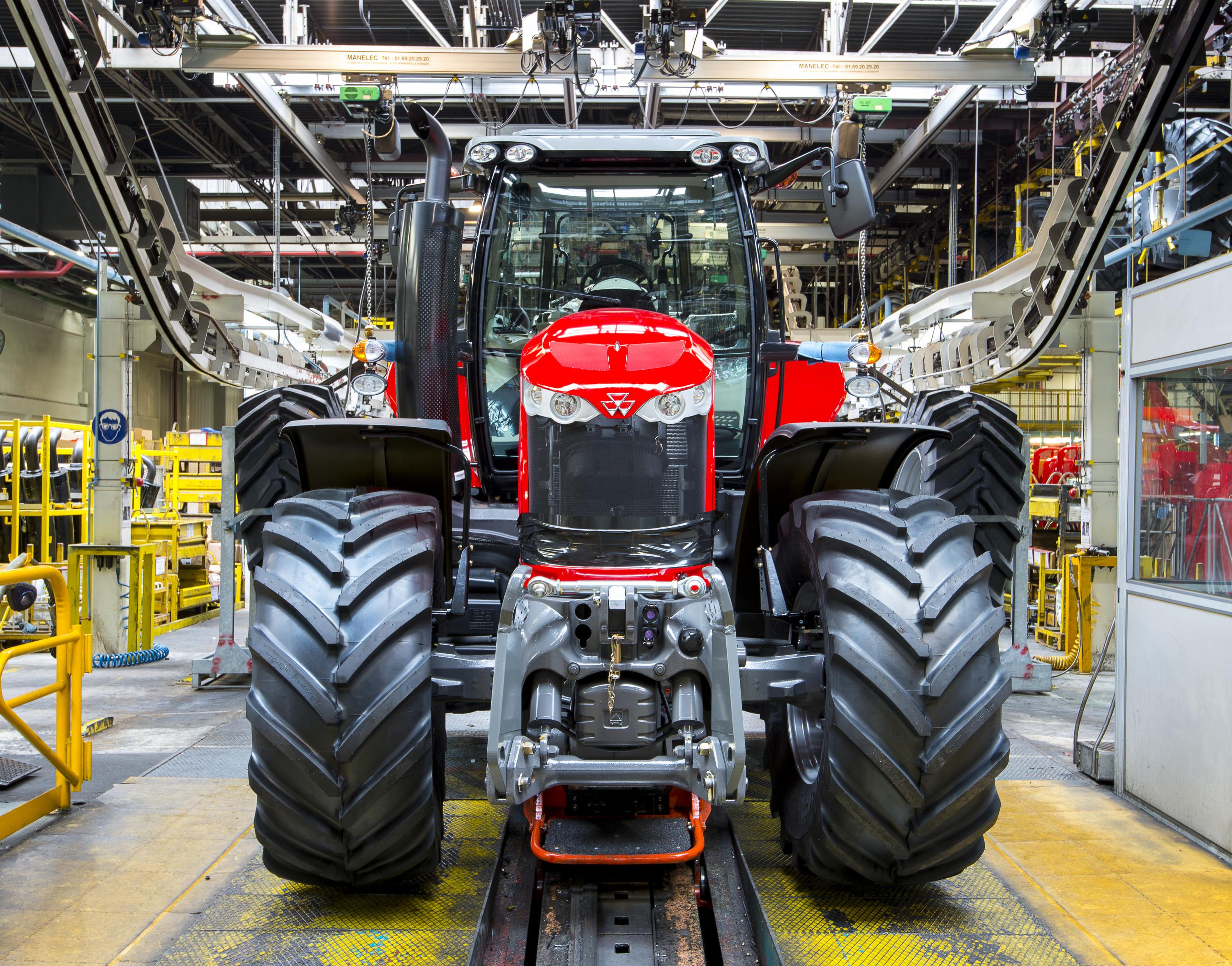 Försäljningen av lantbruksmaskiner ökar