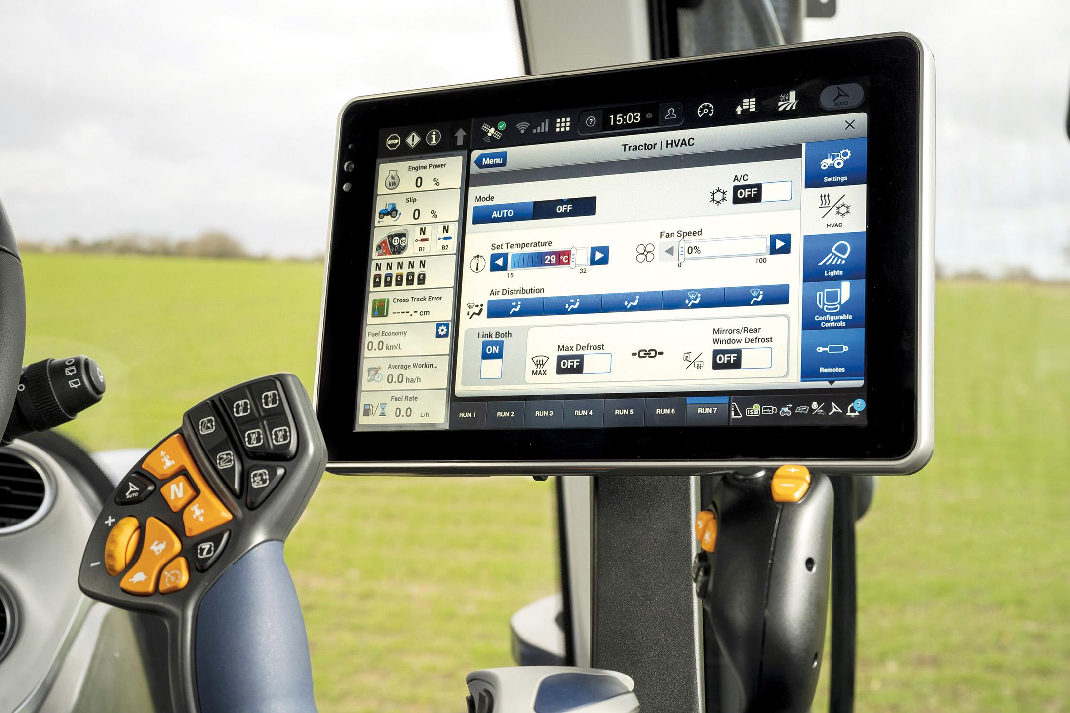 Smarta traktorer från New Holland
