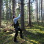 Mät skogen med din smartphone