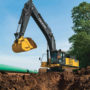 JD lanserar 3D grävare